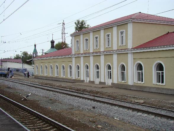 Город Петушки ж.д. вокзал