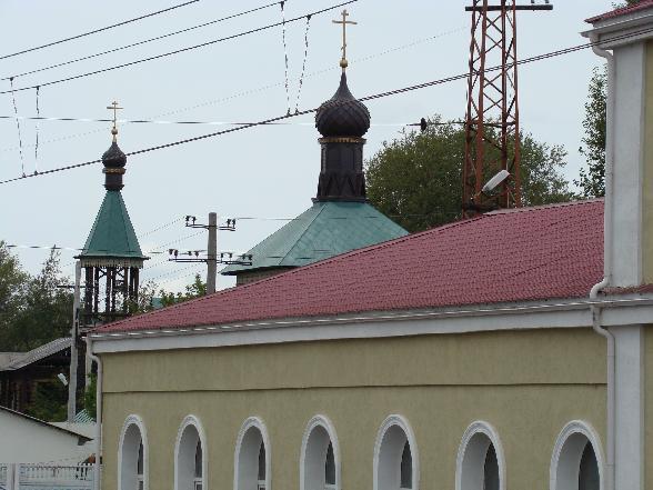 Город Петушки церковь ж.д. вокзал